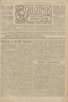 Robotnik : centralny organ P.P.S. R.27, nr 306 (12 listopada 1921) = nr 1428