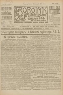 Robotnik : centralny organ P.P.S. R.27, nr 313 (19 listopada 1921) = nr 1435