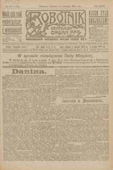 Robotnik : centralny organ P.P.S. R.27, nr 318 (24 listopada 1921) = nr 1440