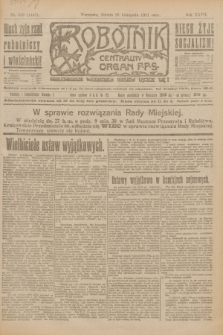 Robotnik : centralny organ P.P.S. R.27, nr 320 (26 listopada 1921) = nr 1442