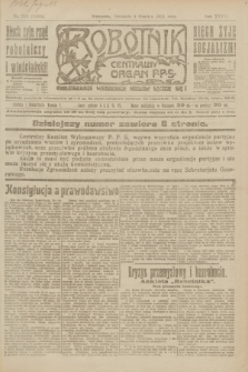 Robotnik : centralny organ P.P.S. R.27, nr 328 (4 grudnia 1921) = nr 1450