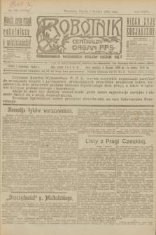 Robotnik : centralny organ P.P.S. R.27, nr 330 (6 grudnia 1921) = nr 1452