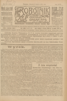 Robotnik : centralny organ P.P.S. R.27, nr 332 (8 grudnia 1921) = nr 1454