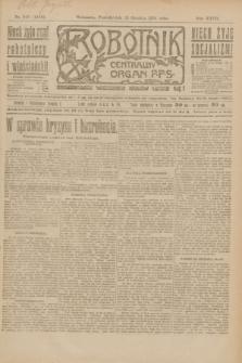 Robotnik : centralny organ P.P.S. R.27, nr 343 (19 grudnia 1921) = nr 1465