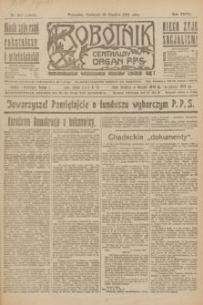 Robotnik : centralny organ P.P.S. R.27, nr 346 (22 grudnia 1921) = nr 1468
