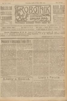 Robotnik : centralny organ P.P.S. R.28, nr 119 (3 maja 1922) = nr 1591