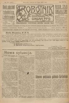Robotnik : centralny organ P.P.S. R.28, nr 195 (20 lipca 1922) = nr 1667