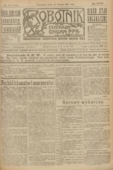 Robotnik : centralny organ P.P.S. R.28, nr 236 (30 sierpnia 1922) = nr 1708