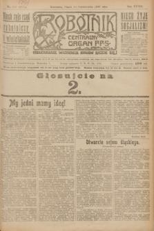 Robotnik : centralny organ P.P.S. R.28, nr 280 (13 października 1922) = nr 1752