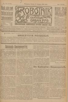 Robotnik : centralny organ P.P.S. R.28, nr 344 (16 grudnia 1922) = nr 1816 + dod.