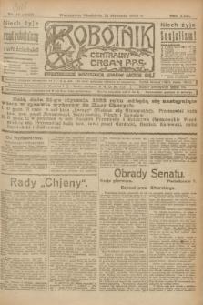 Robotnik : centralny organ P.P.S. R.29, nr 19 (21 stycznia 1923) = nr 1847