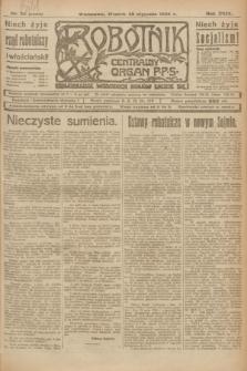 Robotnik : centralny organ P.P.S. R.29, nr 28 (30 stycznia 1923) = nr 1856