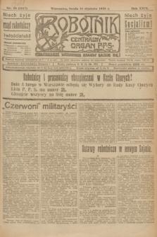 Robotnik : centralny organ P.P.S. R.29, nr 29 (31 stycznia 1923) = nr 1857