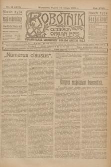Robotnik : centralny organ P.P.S. R.29, nr 45 (16 lutego 1923) = nr 1873