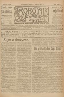 Robotnik : centralny organ P.P.S. R.29, nr 66 (9 marca 1923) = nr 1894