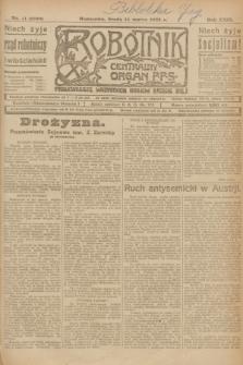 Robotnik : centralny organ P.P.S. R.29, nr 71 (14 marca 1923) = nr 1899