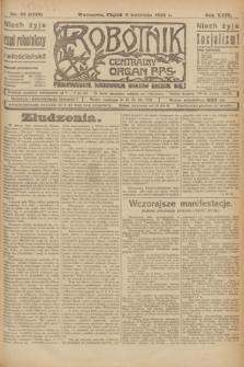 Robotnik : centralny organ P.P.S. R.29, nr 92 (6 kwietnia 1923) = nr 1920