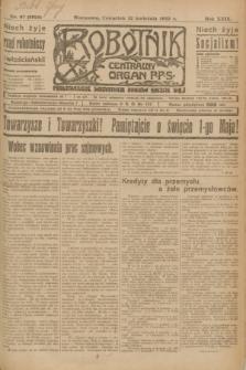 Robotnik : centralny organ P.P.S. R.29, nr 97 (12 kwietnia 1923) = nr 1925