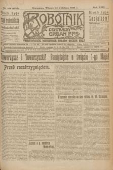 Robotnik : centralny organ P.P.S. R.29, nr 109 (24 kwietnia 1923) = nr 1937