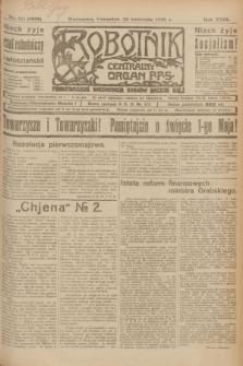 Robotnik : centralny organ P.P.S. R.29, nr 111 (26 kwietnia 1923) = nr 1939