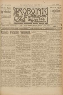 Robotnik : centralny organ P.P.S. R.29, nr 119 (4 maja 1923) = nr 1947