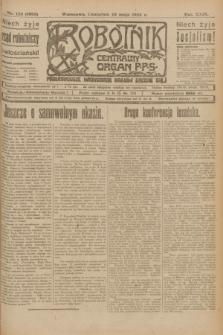 Robotnik : centralny organ P.P.S. R.29, nr 125 (10 maja 1923) = nr 1953