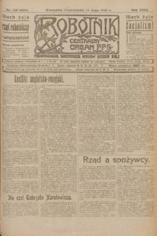 Robotnik : centralny organ P.P.S. R.29, nr 129 (14 maja 1923) = nr 1957
