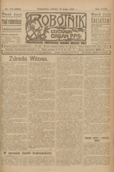 Robotnik : centralny organ P.P.S. R.29, nr 134 (19 maja 1923) = nr 1962