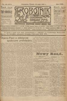 Robotnik : centralny organ P.P.S. R.29, nr 143 (29 maja 1923) = nr 1971