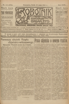 Robotnik : centralny organ P.P.S. R.29, nr 144 (30 maja 1923) = nr 1972