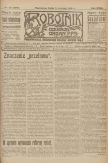 Robotnik : centralny organ P.P.S. R.29, nr 151 (6 czerwca 1923) = nr 1979