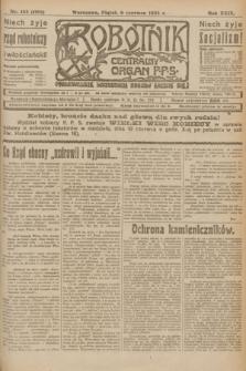 Robotnik : centralny organ P.P.S. R.29, nr 153 (8 czerwca 1923) = nr 1981