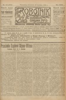 Robotnik : centralny organ P.P.S. R.29, nr 159 (14 czerwca 1923) = nr 1987