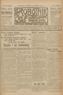 Robotnik : centralny organ P.P.S. R.29, nr 166 (21 czerwca 1923) = nr 1994