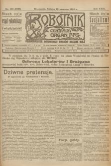 Robotnik : centralny organ P.P.S. R.29, nr 168 (23 czerwca 1923) = nr 1996