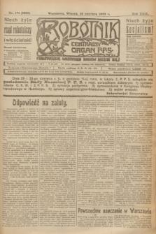 Robotnik : centralny organ P.P.S. R.29, nr 171 (26 czerwca 1923) = nr 1999