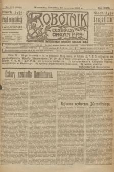 Robotnik : centralny organ P.P.S. R.29, nr 173 (28 czerwca 1923) = nr 2001