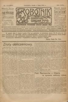Robotnik : centralny organ P.P.S. R.29, nr 179 (4 lipca 1923) = nr 2007