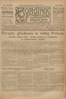 Robotnik : centralny organ P.P.S. R.29, nr 194 (19 lipca 1923) = nr 2022