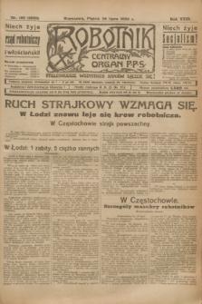 Robotnik : centralny organ P.P.S. R.29, nr 195 (20 lipca 1923) = nr 2023