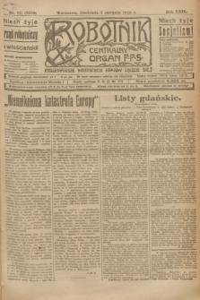 Robotnik : centralny organ P.P.S. R.29, nr 211 (5 sierpnia 1923) = nr 2039