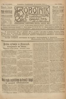 Robotnik : centralny organ P.P.S. R.29, nr 219 (13 sierpnia 1923) = nr 2047