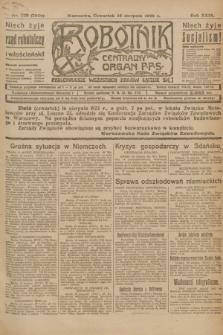 Robotnik : centralny organ P.P.S. R.29, nr 222 (16 sierpnia 1923) = nr 2050