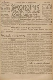 Robotnik : centralny organ P.P.S. R.29, nr 224 (18 sierpnia 1923) = nr 2052