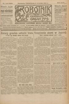 Robotnik : centralny organ P.P.S. R.29, nr 240 (3 września 1923) = nr 2068