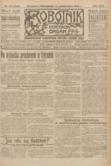 Robotnik : centralny organ P.P.S. R.29, nr 281 (15 października 1923) = nr 2109