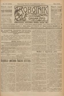 Robotnik : centralny organ P.P.S. R.29, nr 296 (30 października 1923) = nr 2124