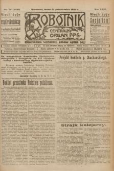 Robotnik : centralny organ P.P.S. R.29, nr 297 (31 października 1923) = nr 2125