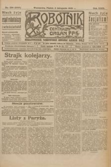 Robotnik : centralny organ P.P.S. R.29, nr 299 (2 listopada 1923) = nr 2127
