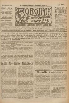 Robotnik : centralny organ P.P.S. R.29, nr 300 (3 listopada 1923) = nr 2128